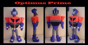 Commission: Optimus Plushie by SinLei