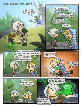 Crossover:When Riven meets Rylai - Part 1 by phsueh