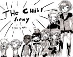 CHIBI army by DarkHakaru