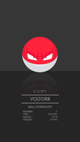 Voltorb by WEAPONIX