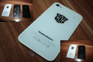 Optimus iphone by Matzell