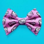 Micro Mini Pink T-Rex Hair Bow by misstaraleexo