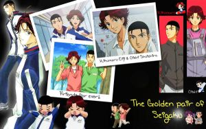 The golden pair of Seigaku by Angelgina