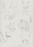 some sketches o: by ZiiaChan