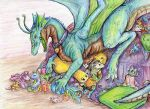 Dragon's Hord by Swampqueen