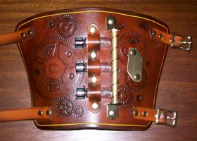 Steampunk Half Bracer 2 by Steampunked-Out