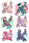 [CLOSED] Lepitsune Batch #11- AUCTION by jaywalkings