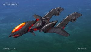 Nod Aircraft D Concept - CNC4 by HeavyMetalDesigner