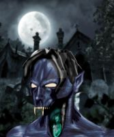 Raziel Closeup Color by Keldarak