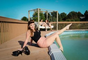 Pin Up By The Pool by marissamartha
