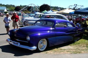 Blue Lead Sled by indigohippie