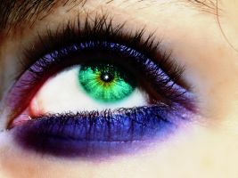 The Eye of Vibrant Colour by PrincessNut