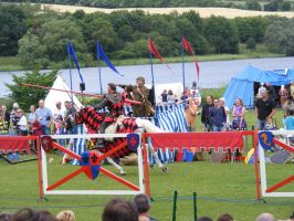 Jousting - Knight 26 by Axy-stock