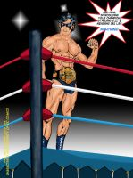 08-Nightwing Champ by JungleKingKazar