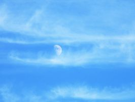 Cloud Covered Moon 3 by geiersphotos