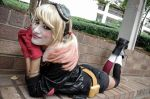 Bombshell Harley Quinn Cosplay AWA Con 2014 by derpmyBASS