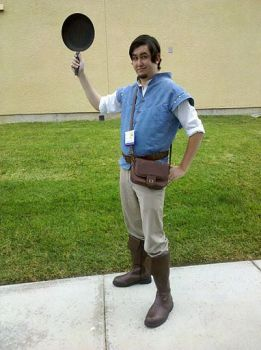 Cosplay Commission - Flynn Rider by Wickipix