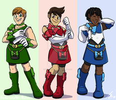 Magical Guys by forte-girl7