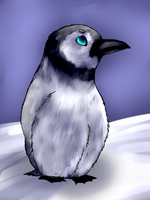 .:Baby Penguin:. by graciegra