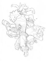 CannonBusters.Pencils by theCHAMBA