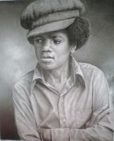 micheal jackson young by thunder2165
