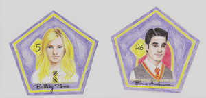 Glee Chocolate Frog Cards 2 by ivy11
