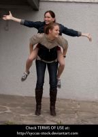 G+S: Piggyback 6 by syccas-stock
