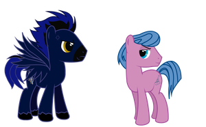 Comission: Storm Spark and Cruising Voyage by Spectty