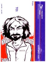 Charles Manson by scumbugg