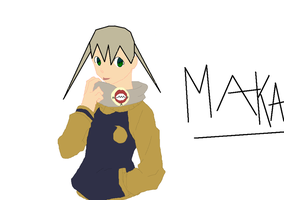 maka in soul's clothes???? by avatarxuxa