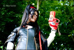 Bayonetta - Ready for action by MortenW