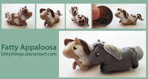 Fatty Appaloosa - SOLD by Bittythings