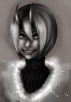 more painterly practice by AishaxNekox