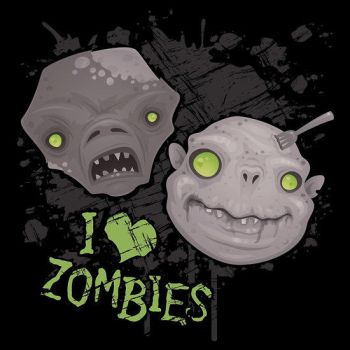 I Love Zombies by fizzgig