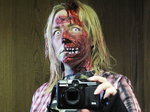 Zombie selfie by tripperfunster