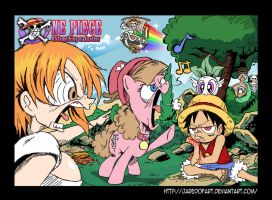One Piece - Friendship is... Annoying by JaredofArt
