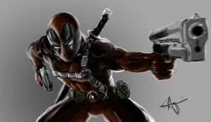 Deadpool by Geokeeno