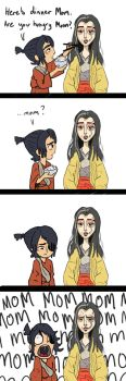 Kubo's Mom by CaptEncore