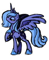 S1 Luna (Sketch) by Hexfloog