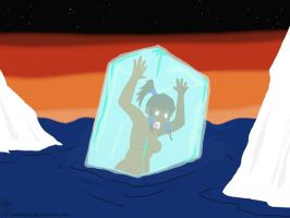 Korra And An Arctic Dip by NexusDX