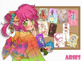 Aries Arigato by RosaKiddy