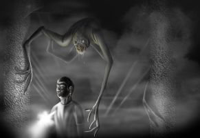 The Thing in the Basement by franeres