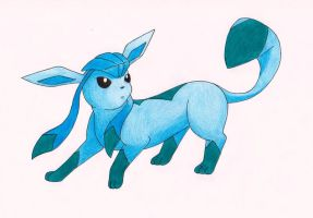 Glaceon by klumtimea