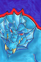Sketchcard Commission:Khold by Hades-O-Bannon