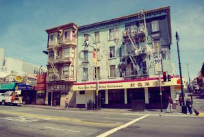 Chinatown San Francisco by BOBTheCAVEMAN
