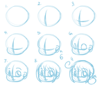 Crappy Chibi Head Tutorial by SuperHeroPattyFatty