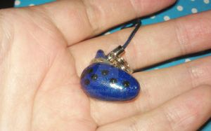 Ocarina of time shiny charm by MeowMowRaa