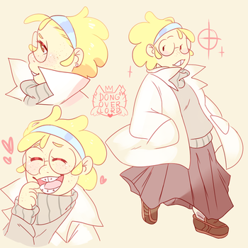 human alphys by dongoverlord
