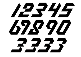 Quantum Leap - Numerals by Weegraphicsman