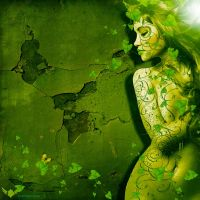 Miss green by Statique77